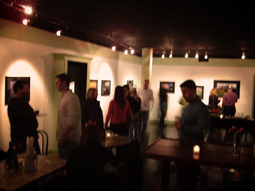 Opening night at Studio of 5 rings