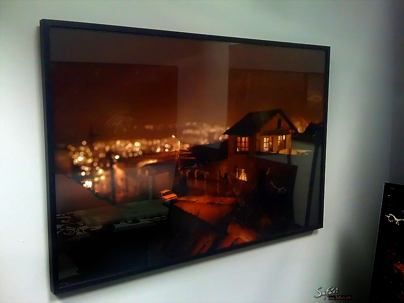 Shrine Of City Stories by Anastasiy Safari, framed