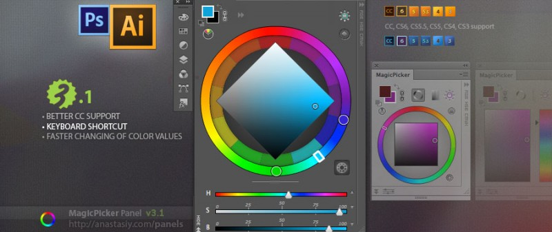 MagicPicker color wheel update 3.1