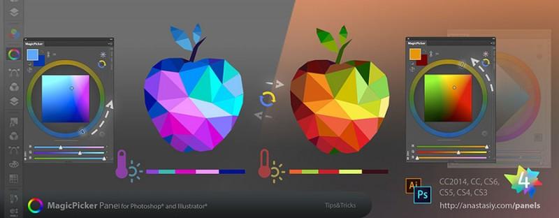 MagicPicker's Color Temperature Wheel