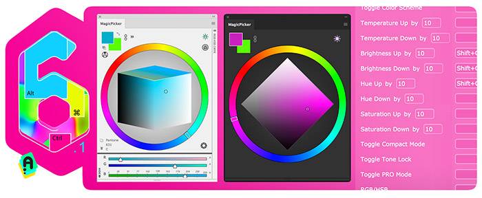 MagicPicker color wheel 6.1