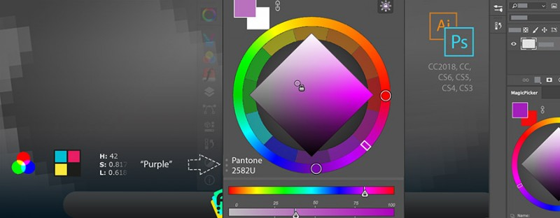 MagicPicker color wheel 75th tutorial
