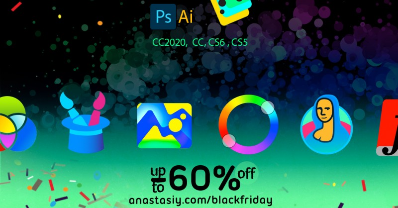 Black Friday discounts on Photoshop panels