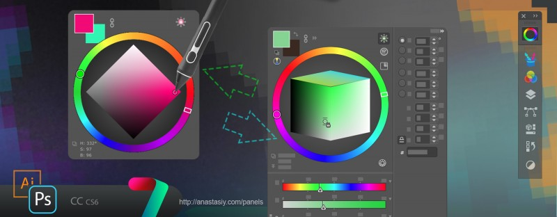 MagicPicker Color Wheel HUD – super minimal or super powerful